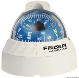 Finder Aufbaukompass weiß Version zum Aufstellen Kompassrose 67mm