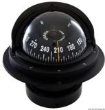Riviera Kompass 4 Zoll Einbaumodell Rose mit Frontsicht Hochgeschwindigkeit schwarz