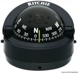 RITCHIE Kompass Explorer 2  3/4  70 mm Version außen schwarz schwarz