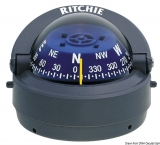 RITCHIE Kompass Explorer 2  3/4  70 mm Version außen grau blau