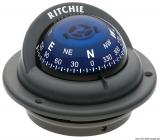 RITCHIE Kompasse Trek 2 1/4 57 mm m. Kompensiereinrichtungen und Beleuchtung  grau blau