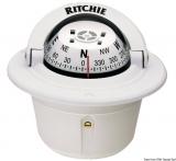 RITCHIE Kompasse Explorer 2 3/4 70 mm m. Kompensiereinrichtungen und Beleuchtung  weiß weiß