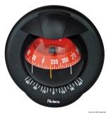 RIVIERA 4 Zoll Pegasus Schottkompass schwarz  rot