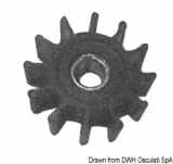 SHERWOOD Heckmotoren Flügelrad Impeller Original-Art. Nr. 9000K