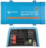 VICTRON Umrichter Phoenix reine Sinuswelle 800W 12V