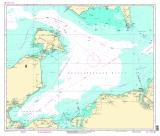 Seekarten Tischset Lübecker Bucht
