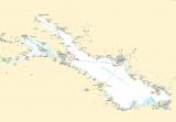 Seekarten Tischset Bodensee