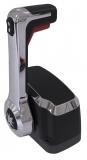 Schaltbox Xtreme Top Mount Control  Topmontage Farbe chrom schwarz Single mit Trimm und Tilt