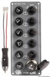 Elektrische Schaltafel 5 Schalter + Anzünder
