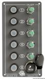 Elite elektrische Schaltafel 5 Schalter + Anzünder