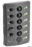 Schalttafel m. automatischen Sicherungen u. 2-LED