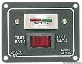 Testpaneel für 2 Batterien