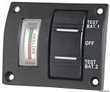 Testpaneel für 2 Batterien, wasserdicht