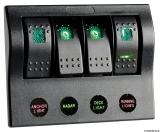 PCP Schalttafel Compact mit 3 Schalter 1 Taster