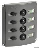 Schalttafel mit automatischen Sicherungen und 2-LED 12 V