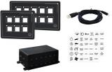 Touch Control elektrische Schalttafel 12 Schalter