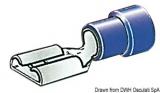 Flachsteckhülsen Faston für Kabel 1 bis 2,5mm Öffnung 6,3mm
