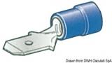 Flachstecker Faston für Kabel 2,5 bis 6mm  Zungenbreite 6,3mm