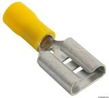 Flachsteckhülsen Faston für Kabel 2,5 bis 6mm Öffnung 9,5mm