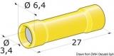 Kabelverbinder Isoliert für Kabel 2,5 bis 6mm