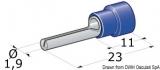 Stiftkabelschuhe von 1 bis 2,5mm