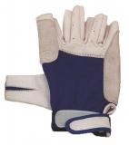 Handschuhe Leder Super Soft, 5 Finger geschnitten Größe: L
