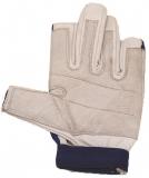 Handschuhe Leder Super Soft, 2 Fingerkuppen geschnitten Größe: S