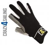 Offshore Segelhandschuhe - 2 Finger geschnitten, schwarz Größe S