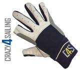 Cruising Segelhandschuhe - 2 Finger geschnitten, navy Größe XS