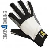 Cruising Segelhandschuhe - 2 Finger geschnitten, weiß Größe XL