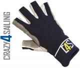 Racing Segelhandschuhe - 5 Finger geschnitten, navy Größe L