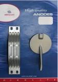 YAMAHA Anoden-Set YAMAHA 200-250 PS HP Magnesium