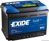 EXIDE Startbatterie Excell 74Ah Modell EB740