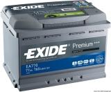 EXIDE Premium Starter- und Versorgungsbatterie 77Ah Modell EA770