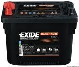 EXIDE AGM-Starterbatterie Maxxima 50Ah Modell EM1000