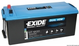 EXIDE Dual-AGM Multi-Purpose Batterie 240Ah Modell EP2100