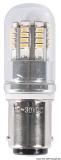 LED-SMD-Lampe BA15D für LED-Strahler mit Glasabdeckung Leistung 2,5 Watt