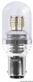 LED-SMD-Lampe BA15D für LED-Strahler mit Glasabdeckung Leistung 3 Watt
