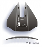 SE Sport 200 Hydrofoil für Motoren von 8-40PS, Farbe schwarz