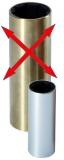 Neopren Lager in Aluminiumgehäuse Welle ø 30mm Außen ø 40mm Länge 120mm
