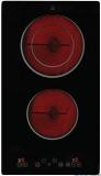 Glaskeramikkochfeld 2 Platten 1200 und 1800 Watt Touch control Bedienung