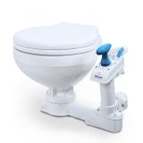 Marine Toilette manuell Compact Low klein  Breite:450cm Höhe:290cm Länge:400cm