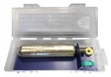 Ersatzpatrone Halkey Roberts 33gr CO2 Zylinder, Clip und HR Schmelztablette
