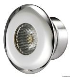 LED-Mikrodeckenleuchte, LED-Farbe rot 1x1 Watt HD