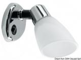 LED Strahler Opal II Titan verchromt 8 bis 30 V 1,2 W