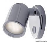 Halogenstrahler Tube ABS verchromt 12 V 5 W