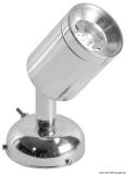 LED Schwenkbare Leuchte ABS  Messing, verchromt  1 x 1 W HD
