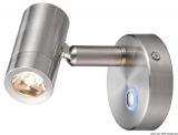 Dimmerbare LED-Strahler Aluminium, vernickelt