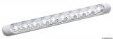 LED Aufbau-Deckenleuchte weiß 230x24x11 mm