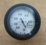 Tachometer mit Pitotrohrsensor (Staudruck) 15-50 mph bzw. 20-80 kmh